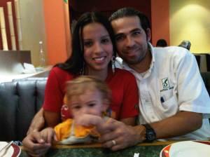 Lucila, Juan and Juan Carlos