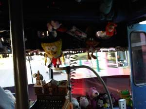 And more decorations on the bus