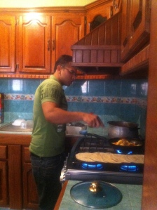 Omar Making Breakfast (2)