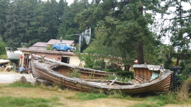 Olld boat